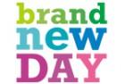 Brand New Day Gouden Handdruk